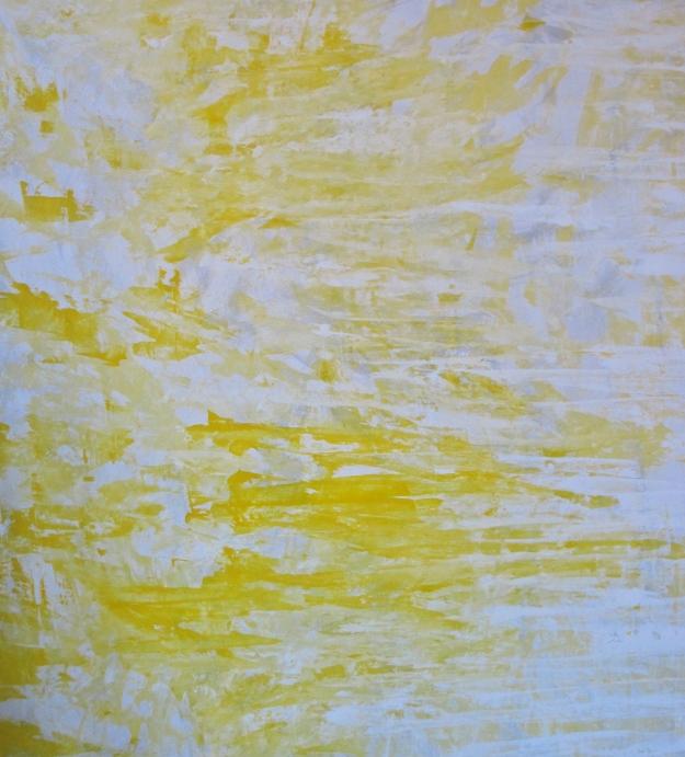 """Untitled 1"" akryyli kankaalle 2011 (146x137cm) Tom Lönnqvist"
