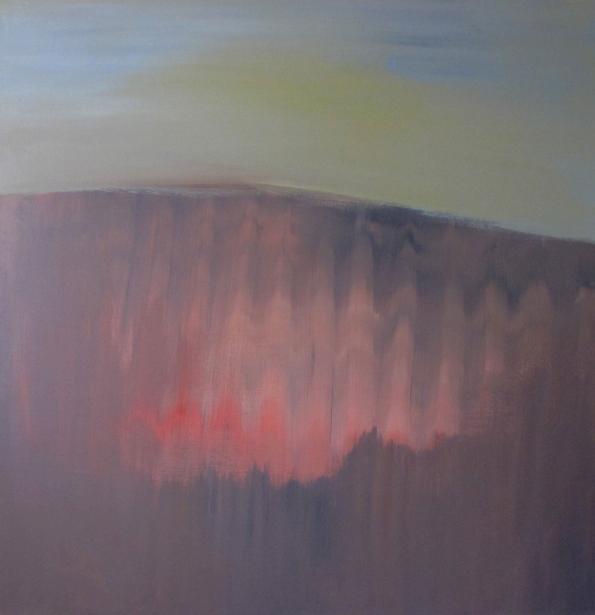 """Resonoi"" akryyli kankaalle 2011 (148x152cm) Tom Lönnqvist"