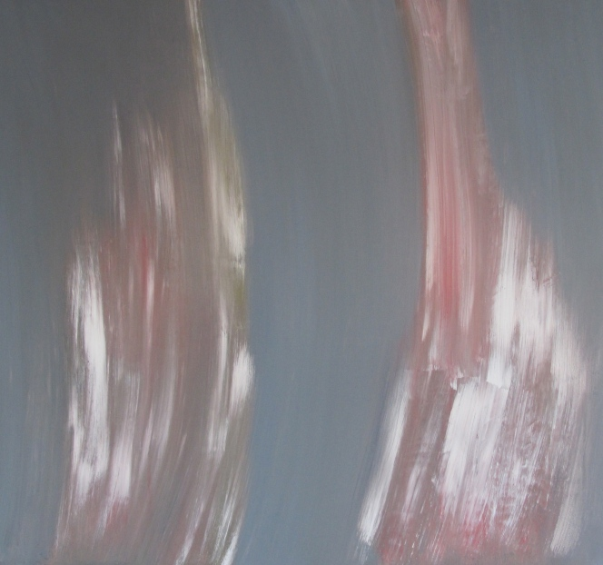 """Peilin"" akryyli kankaalle 2011 (147x162cm) Tom Lönnqvist"