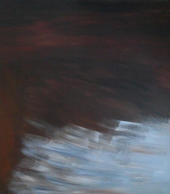"""""""Mavee"""" akryyli kankaalle 2011 (148x128) Tom Lönnqvist"""