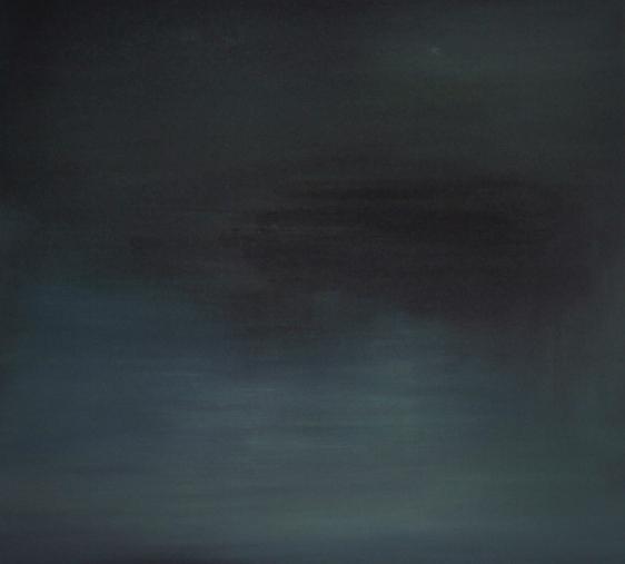 """Tummut"" akryyli kankaalle 2012 (146x132cm) Tom Lönnqvist"